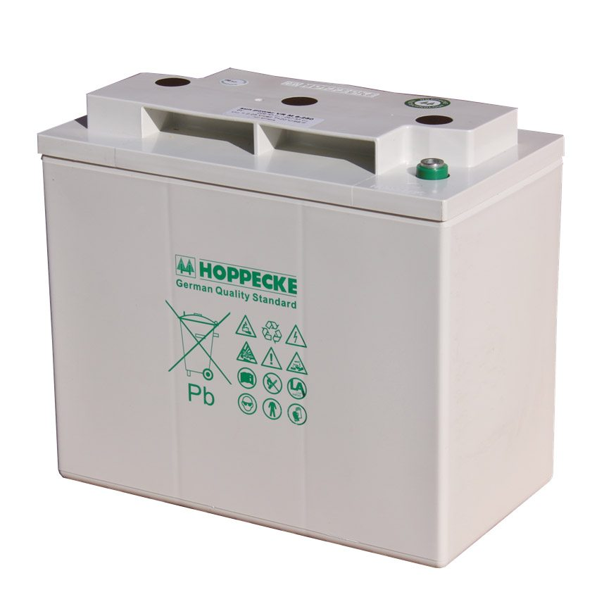 Hoppecke-SunPower-VRM-6V-200-C100-198Ah-Valve-Regulated-Lead-Acid-Battery